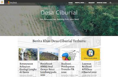 Jasa Buat Website Desa Ciburial