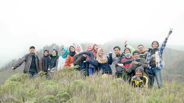 Perjalanan Mendaki Di Kawasan Wisata Gunung Bromo
