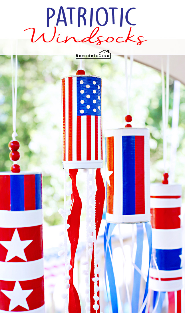 REMODELACASA | PATRIOTIC WINDSOCKS