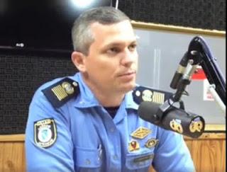 Comandante da Guarda Municipal de Natal (RN) concede entrevista ao Jornal da 96 FM e fala do trabalho da corporação