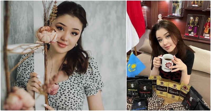 Sempat Heboh,  Dayana Kazakhstan Kini Jadi Brand Ambassador Kopi Indonesia