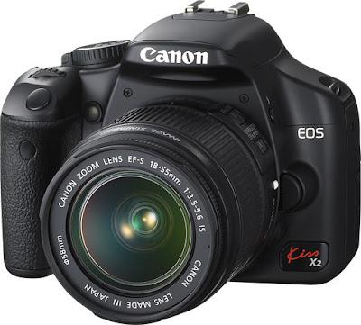 Canon EOS Kiss X2 DSLR Firmware Latest Driverをダウンロード