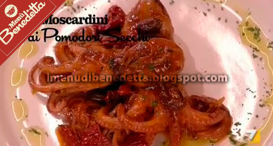 Moscardini Ai Pomodori Secchi La Ricetta Di Benedetta Parodi