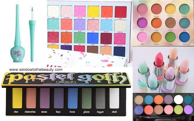 pastelowy makeup