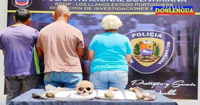 Solo en Venezuela   Tres detenidos en Araure por traficar huesos humanos