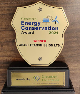 Adani Transmission Ltd,Greentech Energy Conservation Award 2021,ESG,Adani Total Gas Limited,Adani Group,Power for All,Latest Industry News,Companies news,