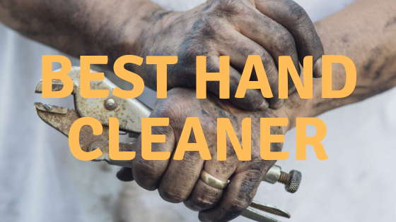 great cleaner for oily hands