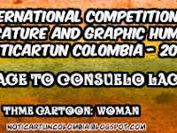 4 International Contest Caricature and Graphic Humor - NOTICARTUN COLOMBIA  2018