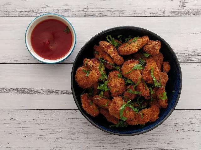Popcorn Air-fried Chicken