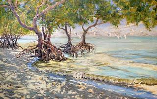 vistas-playas-arboles-pintura