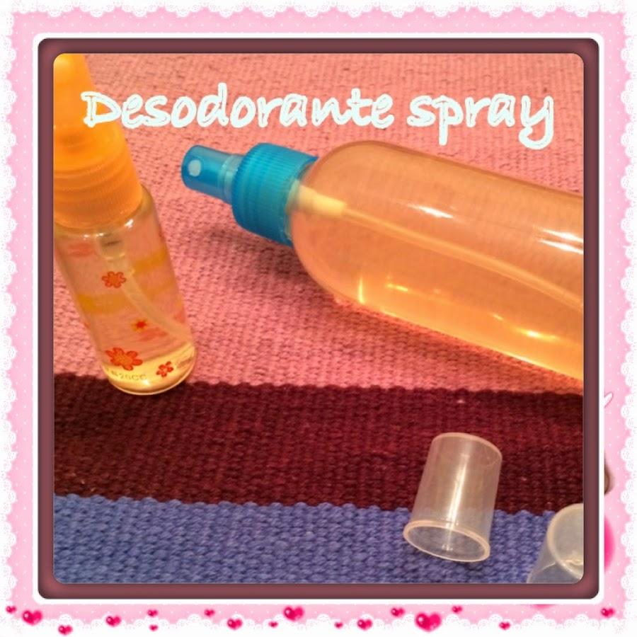 desodorante natural en spray