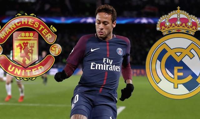 Manchester United ofrece 500 millones por Neymar