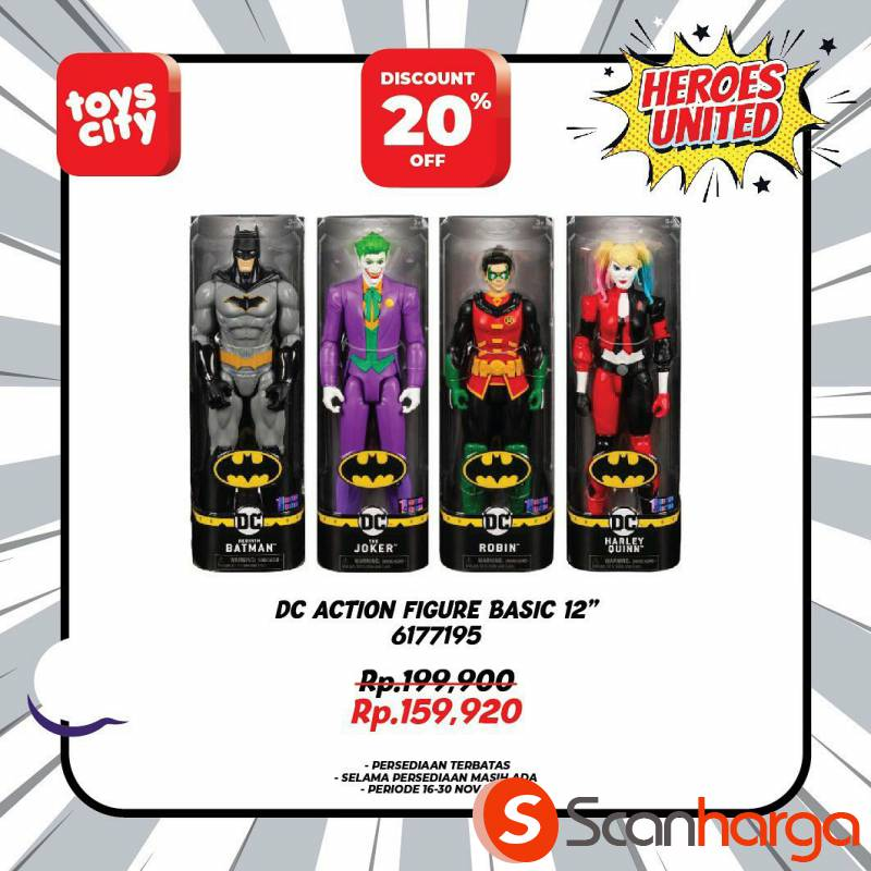 Promo Toys City Fantastic HEROES Collection Special Discount up to 50% 6