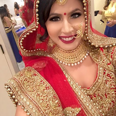 Rashmi-singh-wedding-look