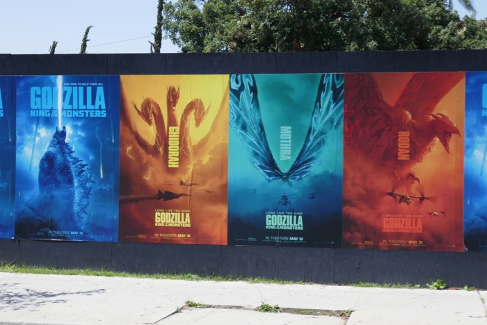 Godzilla King of the Monsters street posters