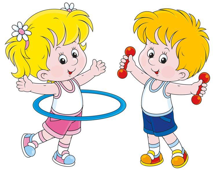 Картинки к утренней гимнастики в детском саду