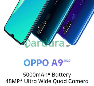 Dengan RAM 8GB, Berikut Spesifikasi HP Oppo A9 2020 Beserta Harganya