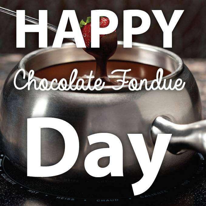 National Chocolate Fondue Day Wishes Photos