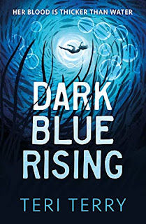 Dark Blue Rising by Teri Terry cover