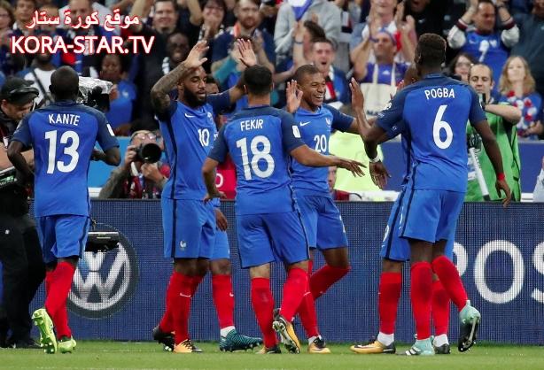 منتخب فرنسا نهائي كأس العالم 2018