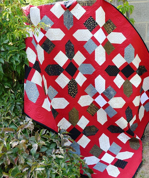 Jolly Bar Jazz Quilt Free Pattern