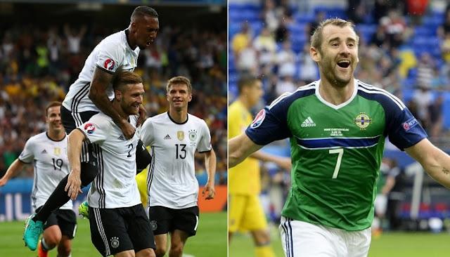 Alemania vs Irlanda del Norte en vivo Eurocopa 2016