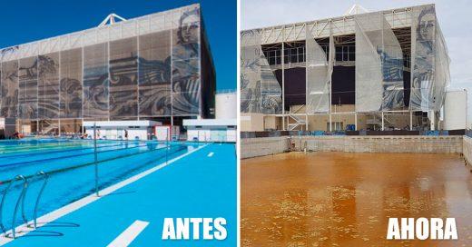 Río 2016, las instalaciones olímpicas olvidadas a su suerte