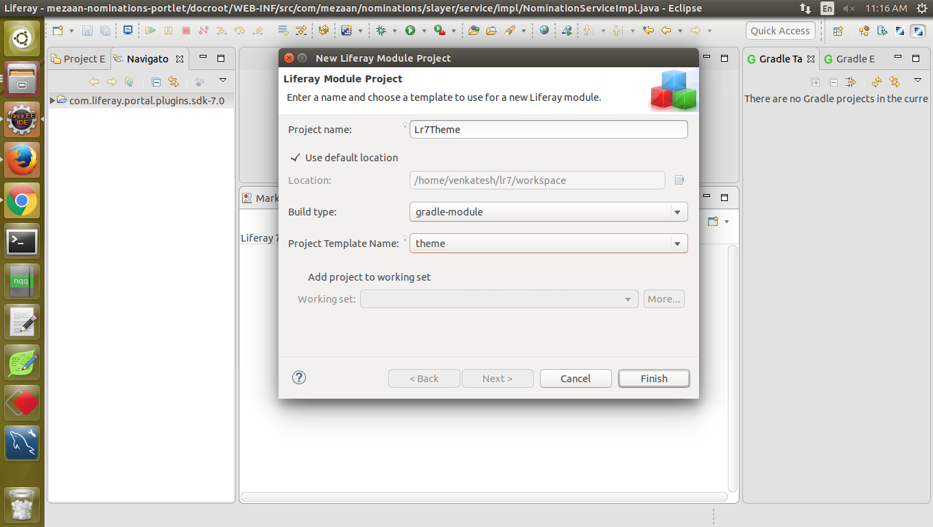 Creating Theme And Deploying In Liferay 7 By Using Eclipse Forums