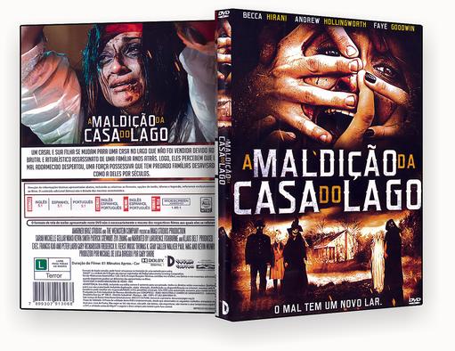 A MALDICAO DA CASA DO LAGO – ISO – CAPA DVD