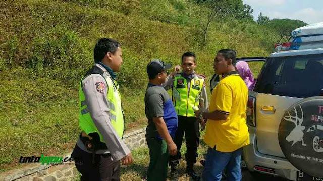 Habis Isi BBM, Pemudik ini Lupa Istri dan Mertua Tertinggal di Rest Area Subang