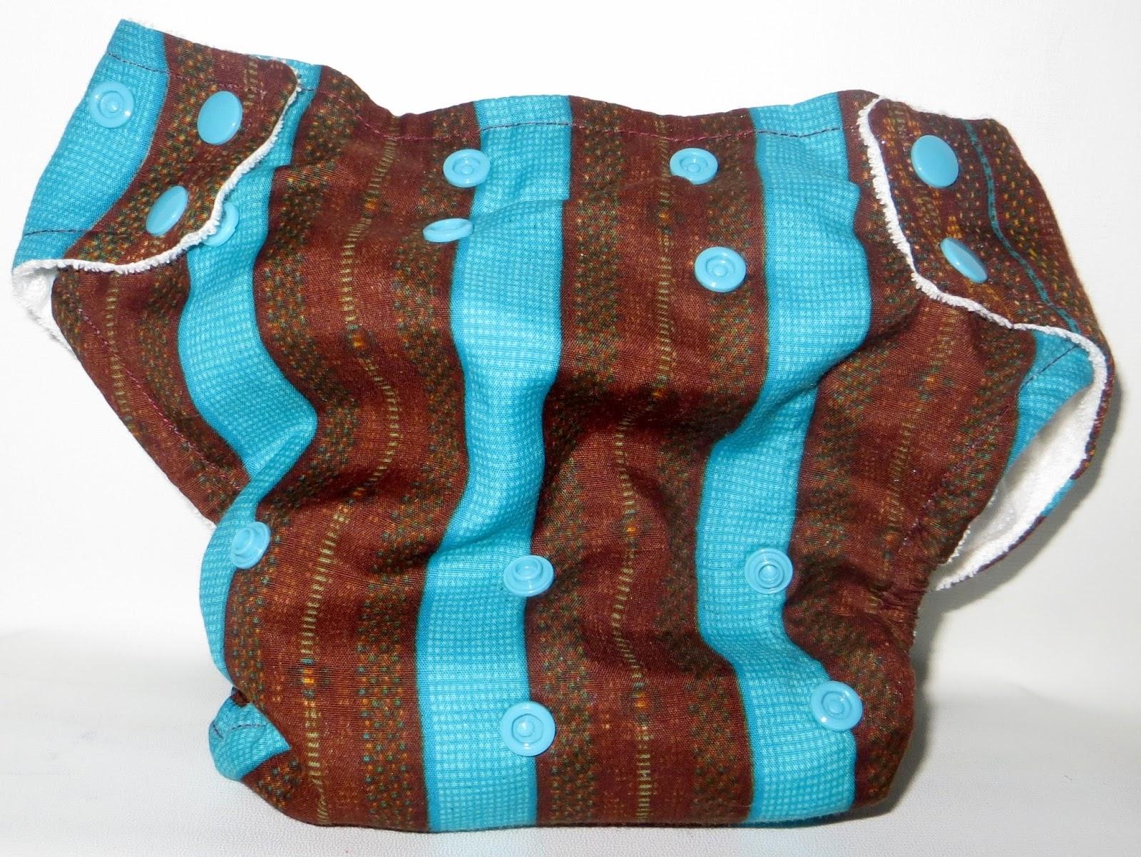 Suah Blue Stripe Cover