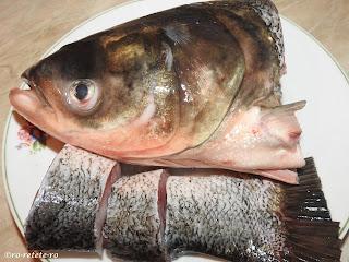 Retete de peste si preparate din pește proaspat reteta cu cap si coada de fitofag sanger retete culinare de casa pescaresti traditionale dobrogene,