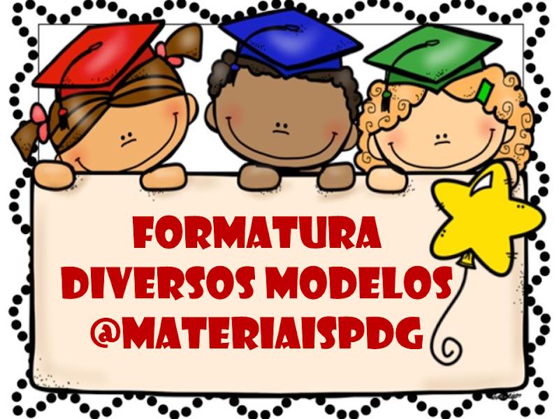 FORMATURA ED INFANTIL E 5º ANO - MODELOS DE VÍDEO EDITÁVEIS