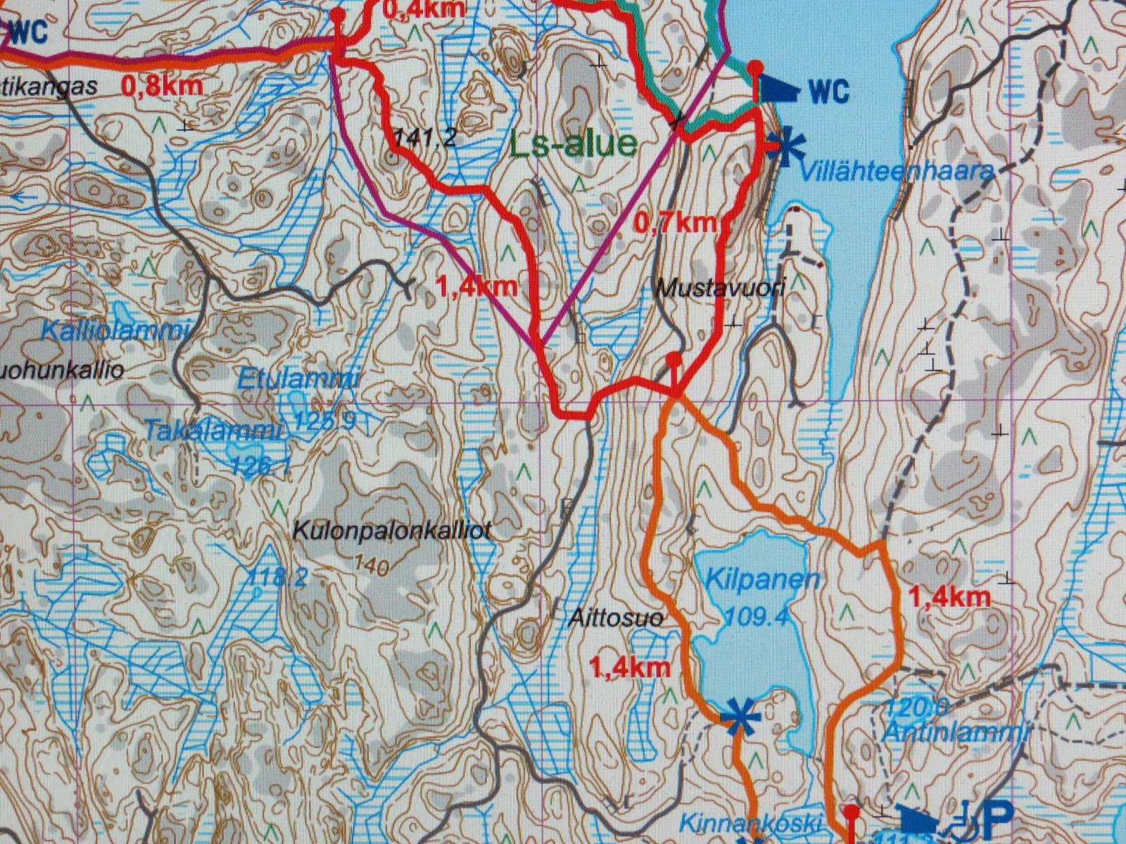 Lapakisto Kartta