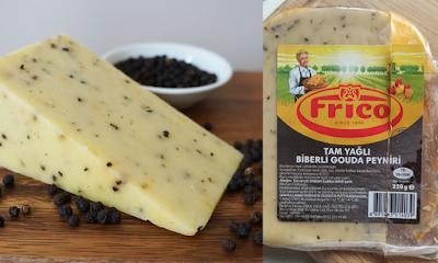 Frico Marka Tam Yağlı Biberli Hollanda Gouda Peyniri Tadımı ve İncelemesi