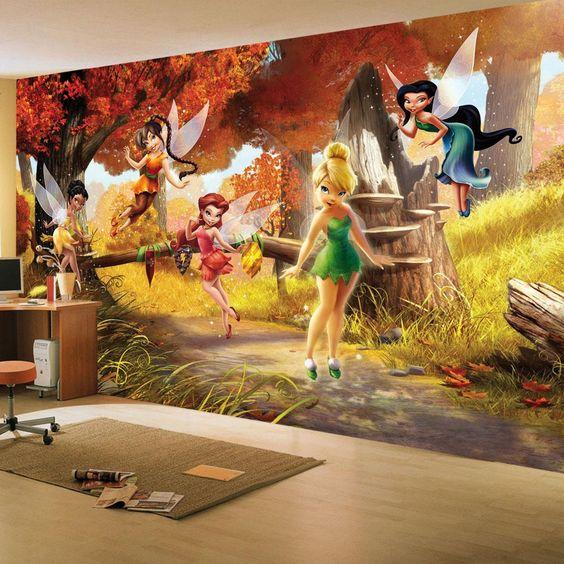 Disney tapetti Helinä-keiju Tinker Bell