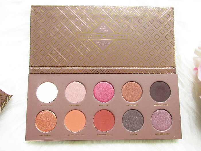 Swatches & Review - Zoeva - Cocoa Blend Eyeshadow Palette
