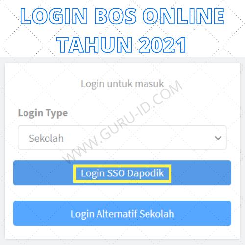 gambar login bos 2021