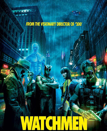 Poster Of Watchmen 2009 In Hindi Bluray 720P Free Download