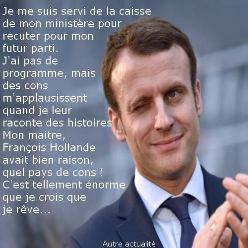 L'énorme affaire Macron