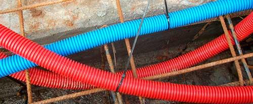 Instalaciones eléctricas residenciales - Tubos conduit de polietileno