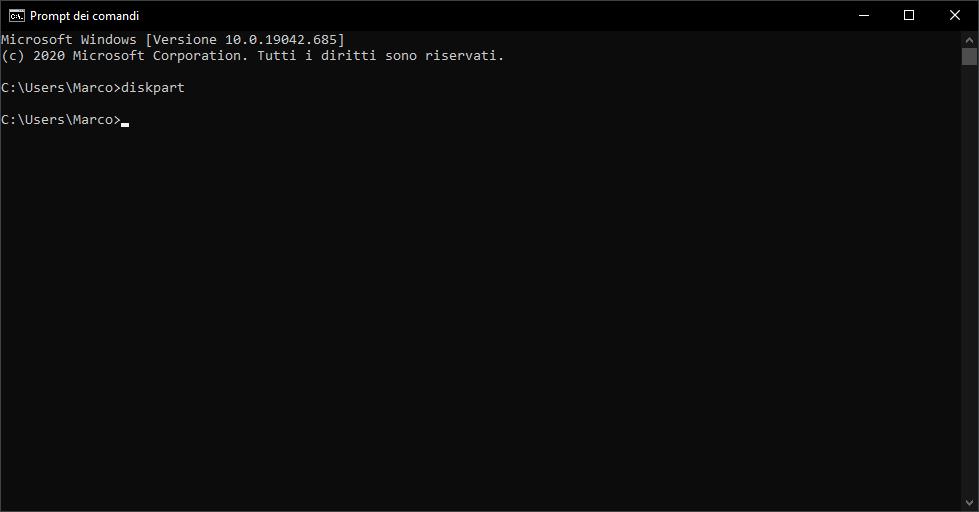Come montare partizione EFI su Windows