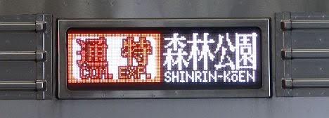 東急東横線 東京メトロ副都心線直通 通勤特急 森林公園行き3 東武9000系(平日2本運行)