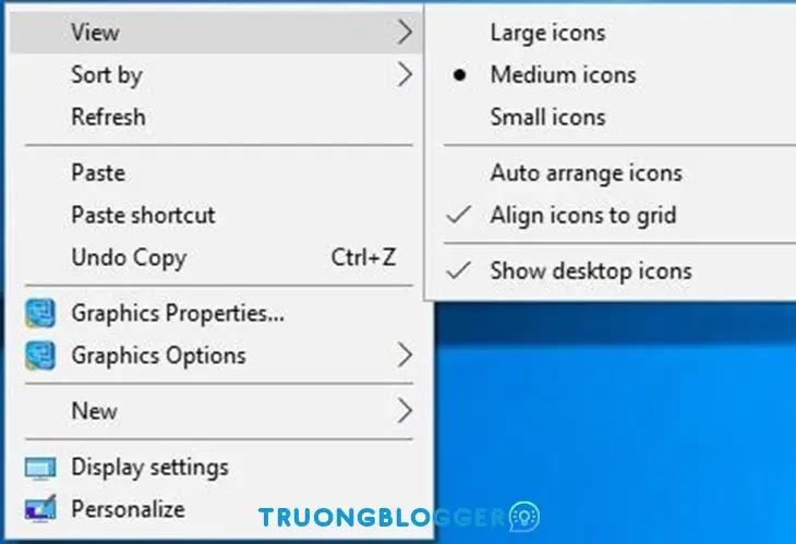 Mẹo làm đẹp, tối ưu hóa màn hình desktop trên Windows 10 mới nhất
