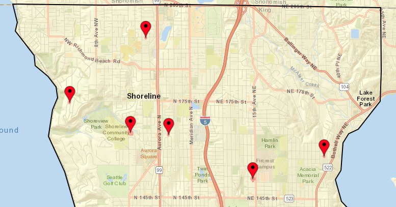 Shoreline Area News There Are Still Power Outages In The Area