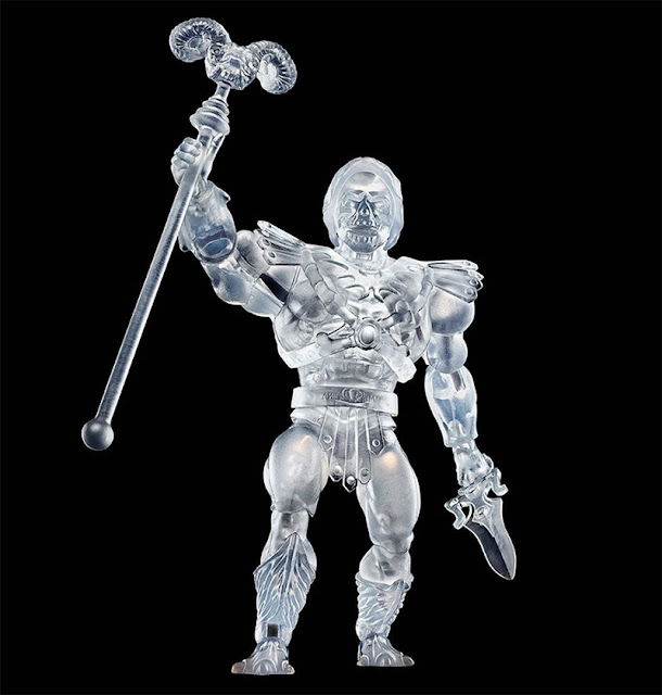 Mattel Creations Skeletor Clear