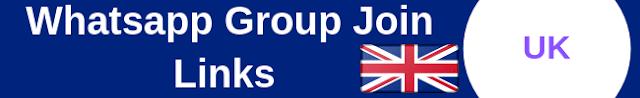 UK Whatsapp Group Join Links