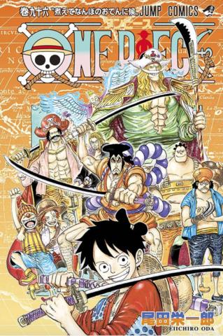 Ver Descargar One Piece Manga Tomo 96