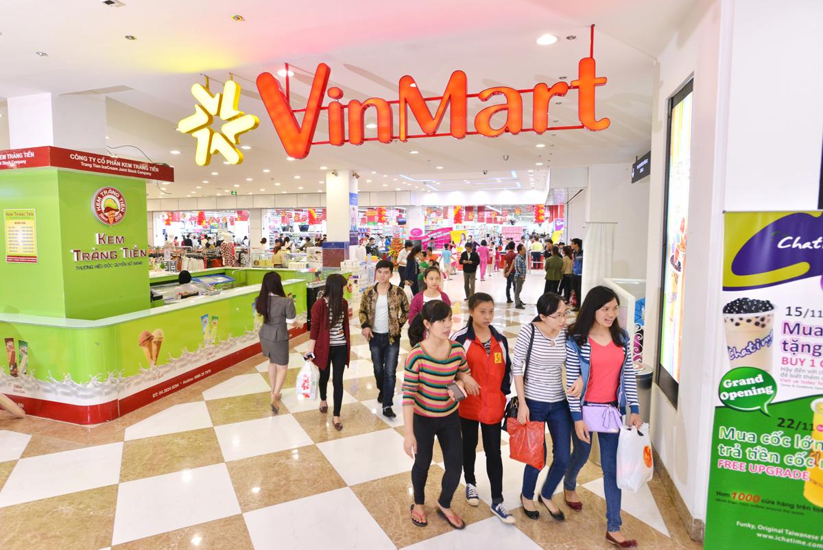 Siêu thị mua sắm Vinmart tại Vinhomes Trần Duy Hưng