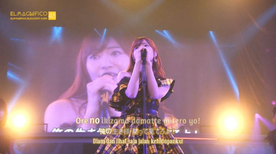 Concert] DISC 1 - Sashihara Rino Solo Concert ~Idol to wa